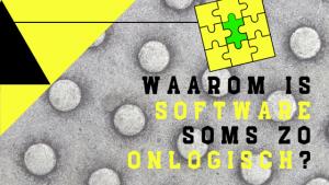 waarom-software-onlogisch