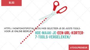 Hoe maak je een URL korter