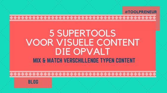 5 tools visuele content opvalt