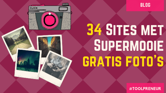 34 sites met gratis foto's
