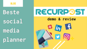 review recurpost 2019 beste social media planner