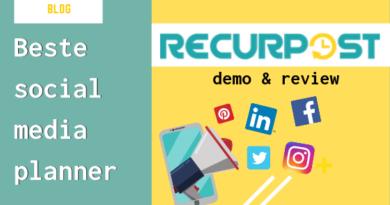review recurpost 2019 beste social media planner