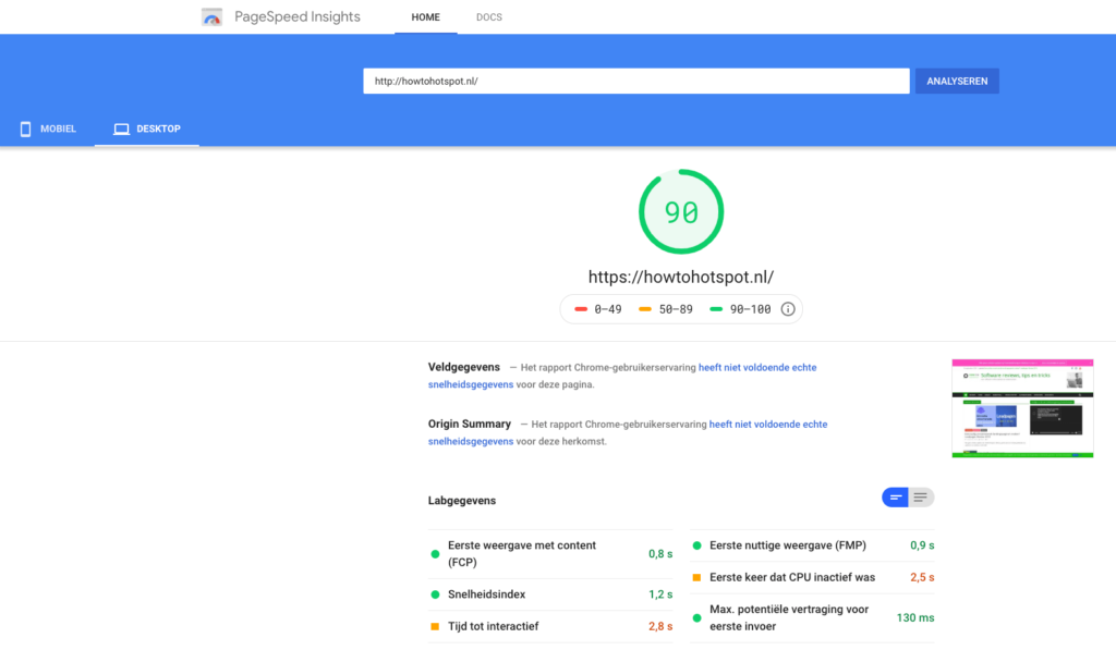 pagespeed-insight-report-desktop