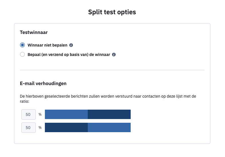 ActiveCampaign-splittest-percentage-instellen