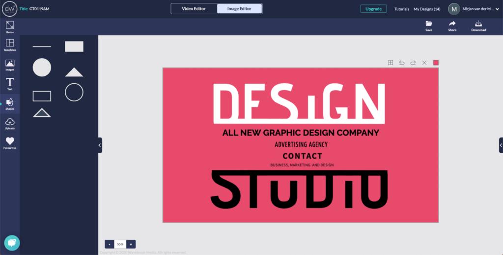 screenshot designwizard 2