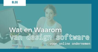 wat en waarom graphic design tool