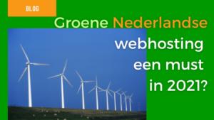 features image groene nederlandse webhosting