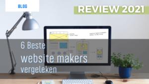 6 beste website makers 2021