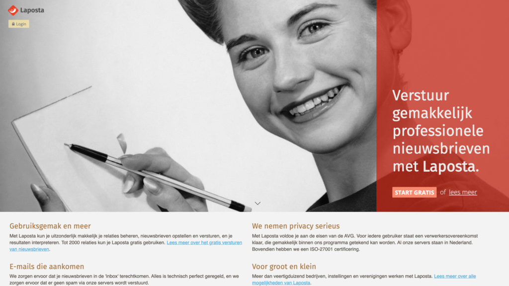 La posta emailmarketing software
