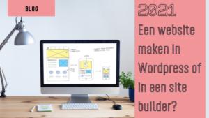 website maken wordpress sitebuilder
