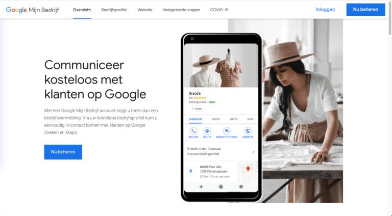 google mijn bedrijf seo tool