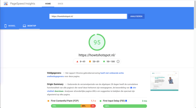 pagespeed insights seo tool