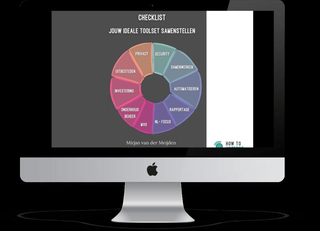 checklist tool selecteren preview